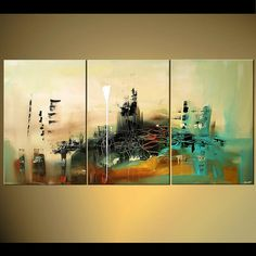 Modern Abstract Painting Original Artwork on by OsnatFineArt, $529.00
