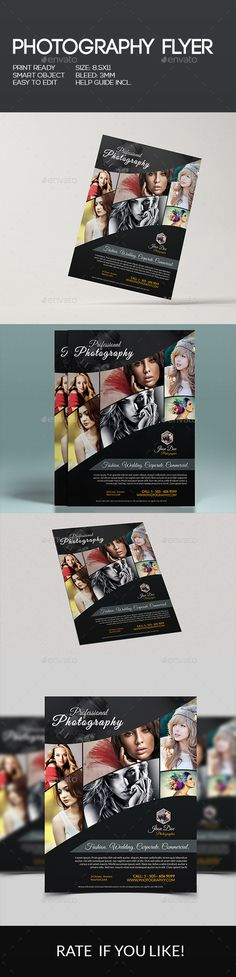 Photography Flyer Pinterest Photography Flyer Photography And