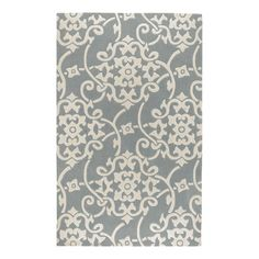 I pinned this Cosmopolitan Rug in Silver Gray & White from the Best-Selling Rugs event at Joss and Main!