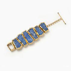 Lapis Stonehenge Bracelet