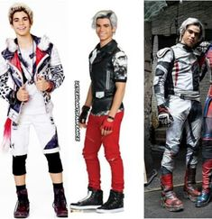 Carlos outfits for Descendants 1,2,3