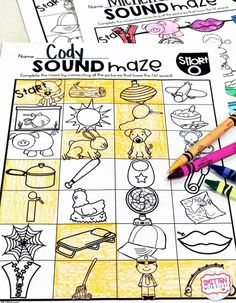Sound Mazes Phonics