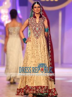 Cognac Deane - DR11033, South Asian Bridal Clothing Stores Selling Bridals by Teena Hina Butt PBCW 2013, 2014 by www.dressrepublic.com