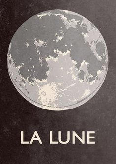 Double Merrick — La Lune - A1 (23.4 × 33.1 inches) Giclee print