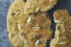 "Phil Vickery's gluten-free focaccia recipe taken from ""Seriously Goo..."