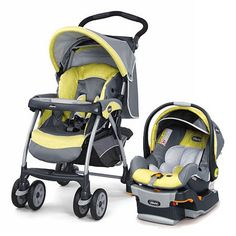 Chicco KeyFit 30 Cortina Travel System - Limonata  one of our faves!