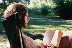 Soak up the vitamin D. Bring your books and pens and lawn chairs to all the local parks - or perhaps, your own backyard!