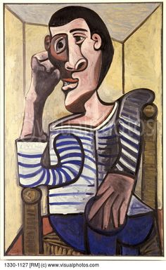 Blog de Sexto C: The sailor. De Pablo Picasso. (1943)
