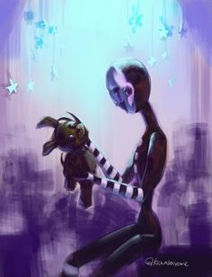 Five Nights at Freddys || Marionette and PlushTrap