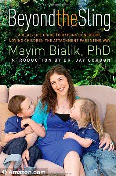 Blossom actress describes her 'attachment parenting' theory in new book        Actress Mayim Bialik, 36, co-sleeps with sons Fred, three and Miles, six months      The Eighties star also bans diapers, use of baby soap and toys from her family home