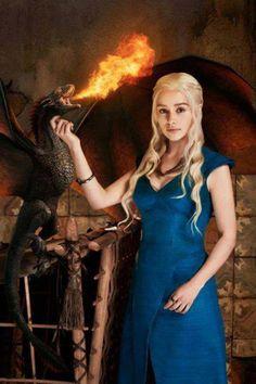 Game of Thrones - gosh I love Dani!