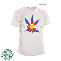 Colorado Flag Marijuana | Colorado Marijuana Shirt |Colorado 420 Shirt – Fearless State