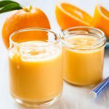 Une crème onctueuse, à déguster en toute occasion. Crème à l'orange sur Recettes.net