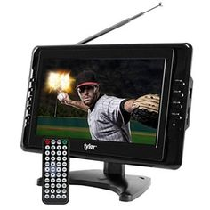Widescreen LCD TV delivers sharp, clear picture through multiple Antenna Options USB/SD inputs for external audio/video playback, Dual AV inputs for us Lcd Television, Portable Tv, Tv Tuner, Recording Equipment, Tv Reviews, Digital Tv, Lcd Monitor, Sd Card, Tvs