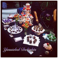 Cupcake Bar - Tasting - Flavors of Guaynabo City Table Settings, Cupcakes, Bar, Table Decorations, City, Food, Home Decor, Cupcake Cakes, Decoration Home