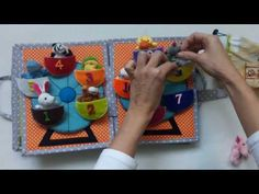 Quiet book for Oliver - handmade by tinuska (facebook) - YouTube
