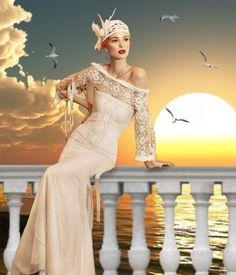 glamorous sunset - Lora Vysotskaya @bazaart