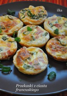 Amazing Food Decoration, Healthy Breakfast Recipes For Weight Loss, Snacks Für Party, Baked Chicken Recipes, Best Appetizers, Food Photo, Finger Foods, Love Food, Food To Make