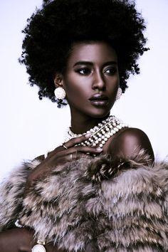FASHION: Model Sara Naomi Stuns In Photographer Cooper Penn's Latest Beauty Editorial - AFROPUNK