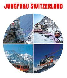 Jungfaru Switzerland Tour by www.europadtours.com
