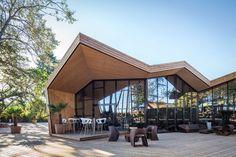 Boos Beach Club Restaurant by Metaform in Bridel, Luxembourg
