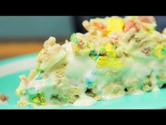 Have You Tried Lucky Charms Ice Cream Cake? YUMMY! - Wow Amazing