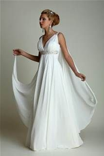 Cheap robe de mariage, Buy Quality a-line wedding dress directly from China wedding gowns Suppliers: New Arrival White Chiffon A-Line Wedding Dresses 2017 Plus Size V-Neck Wedding Gown Vestido de noiva robe de mariage Wholesale Wedding Dresses, 2015 Wedding Dresses, Wedding Dresses Plus Size, Bridal Dresses, Wedding Gowns, Dresses 2016, Boho Wedding, Wedding Ideas, Women's Dresses