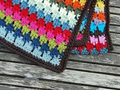 larksfoot stitch blanket edge | Flickr - Photo Sharing!