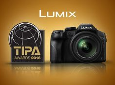 Above: Panasonic LUMIX FZ330 (FZ300 outside the UK). Panasonic Wins Three Prestigious 2016 TIPA Awards: LUMIX FZ330 – 'Best Superzoom Camera', LUMIX G 25mm F1.7 ASPH – 'Best CSC Entry Level Lens' and Panasonic's 4K Ultra HD Camcorder HC-VXF990 – 'Best Camcorder'