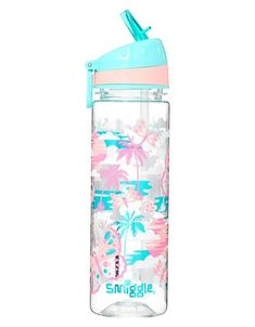 Smiggle Explore Kids Water Drink Bottle for Girls Boys with Flip Top Spout Capacity Baby Bottles, Drink Bottles, Water Bottles, Justice School Supplies, Justice Backpacks, Kawaii Bedroom, Kid Drinks, Cute Stationery, Stationary