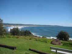 Lennox Head, northern NSW .. a great place to watch the surfers and passing whales