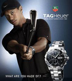 Endorsement advertising tiger wood