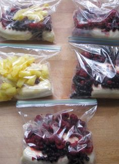 New Nostalgia – Ziplock Freezer Smoothie Packs