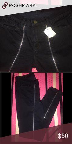 J brand J brand jeans in size 26 jewel zip skinny very cute fit J Brand Jeans Skinny
