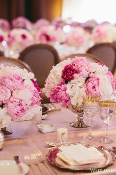 WedLuxe– Pink Peony Perfection   Photography By: Lucida Photography Follow @WedLuxe for more wedding inspiration!