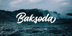Baksoda font download