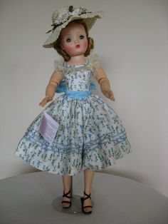 Madame Alexander Vintage Cissy in Tagged Sundress | eBay