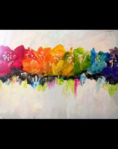 Poppy Prism Reserve Your Seats For This Fun And Colorful Painting On January 24 Abstract Canvas Art, Oil Painting Abstract, Watercolor Art, Poppies Painting, Painting Art, Colorful Paintings, Indian Paintings, Art Paintings, Landscape Paintings