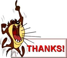 "TAZ ""THANKS!"""