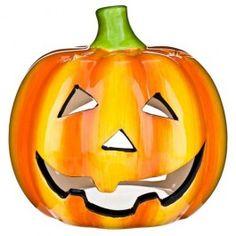 Ceramic Pumpkin Tea Light Holder #poundlandhalloween
