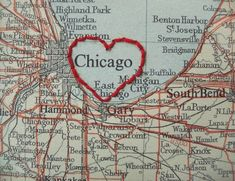 Chicago the windy city, site of so many childhood memories.