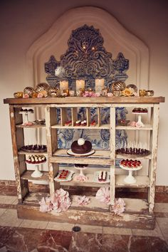 unique dessert table idea