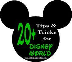 20+ Tips & Tricks for Disney World #Disney #Disneyplanning #disneytips