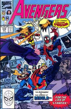 Avengers # 316 by Paul Ryan & Tom Palmer _____ UN _____