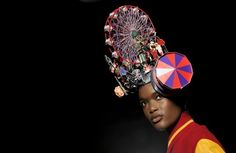 Bizarre hats: Philip Treacy shows 2013 collection with Lady Gaga Philip Treacy, London Fashion Weeks, Irish Hat, Races Style, Crazy Hats, Races Fashion, Fashion Art, Prince William And Catherine, Pictures Of The Week