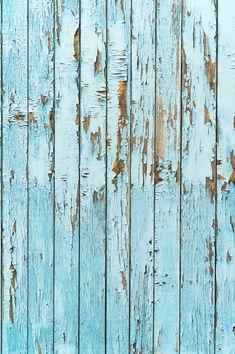 Newborn Backdrop,Vintage Blue Peeling Wood Floor Prop ArtFabric Backdrop XT-2795