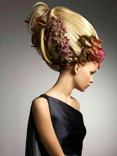 flowers in her hair - Jouni Seppanen