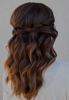 Bridesmaids Down Hairstyles
