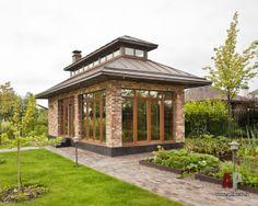 Письмо «Fwd: Říkali jsme si, že by se vám těchto 18 pinů mohlo líbit. Cottage House Designs, Cottage Homes, Small Cottages, Cabins And Cottages, Garden Huts, Gazebo, Pergola, Woodland House, Backyard House