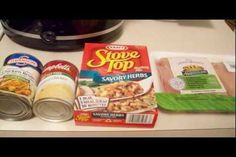 Crock-Pot Chicken and Stuffing (5 Ww Points). Photo by Jessien87